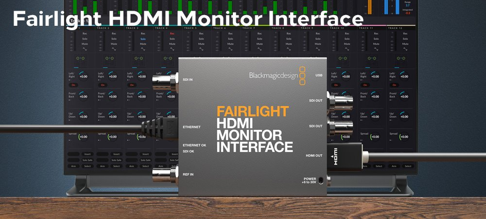 Fairlight Hdmi Monitor Interface